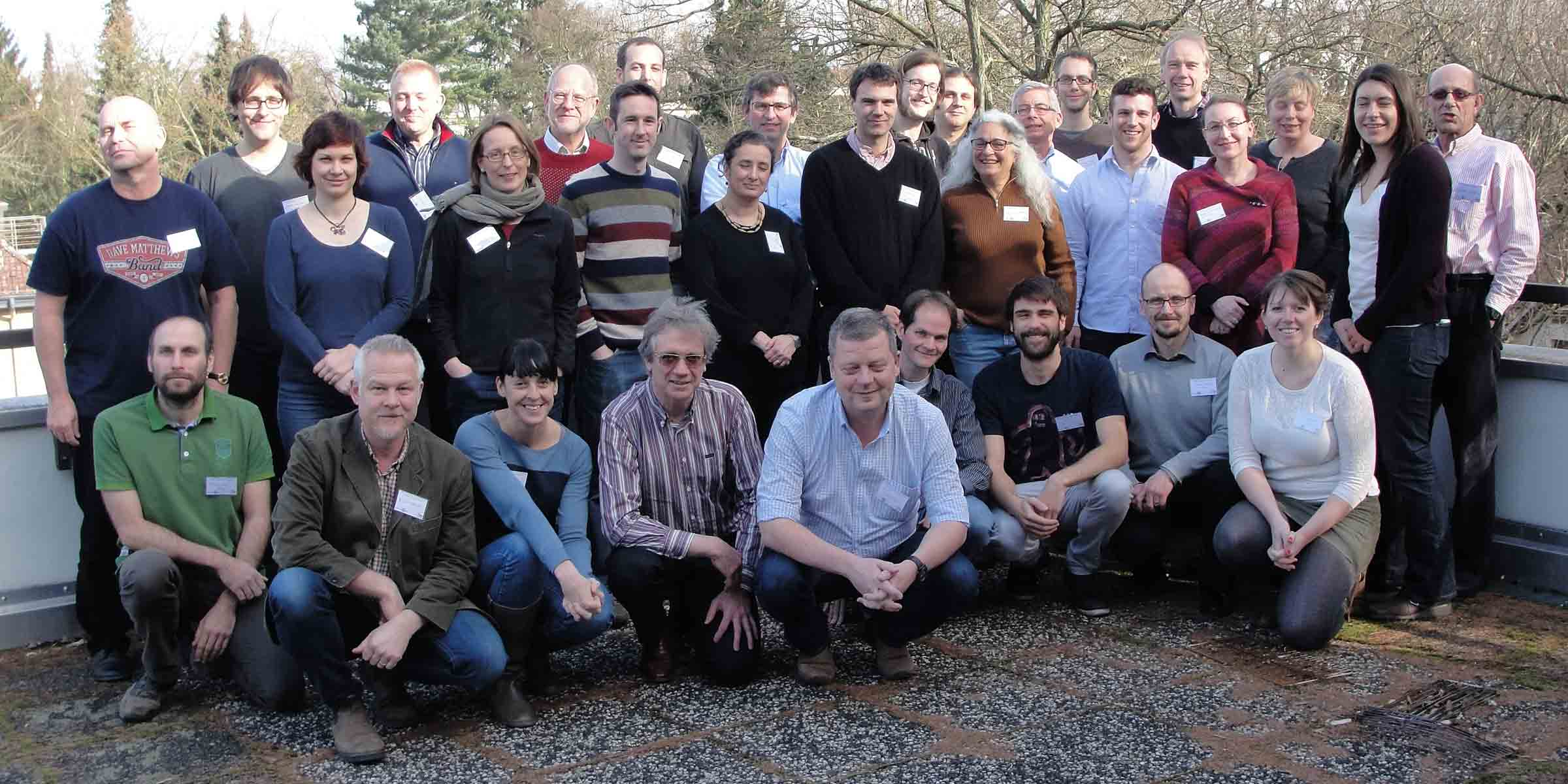 InDyNet Members at the InDyNet workshop 2015 in Berlin