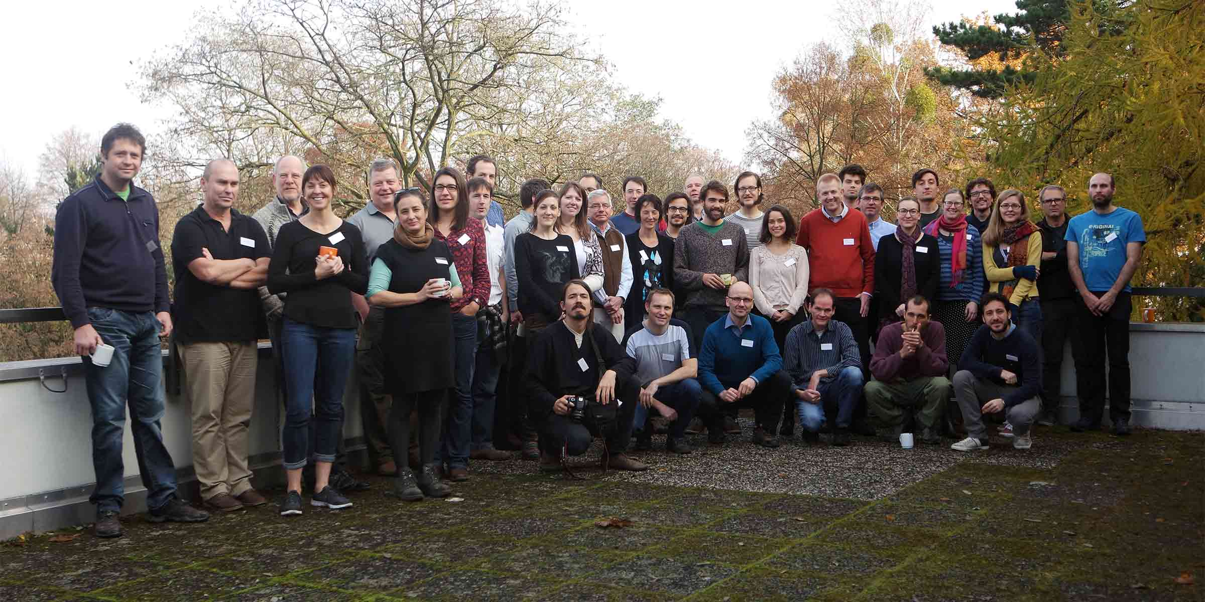 InDyNet Members at the InDyNet workshop 2016 in Berlin